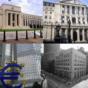 různé centrální banky
