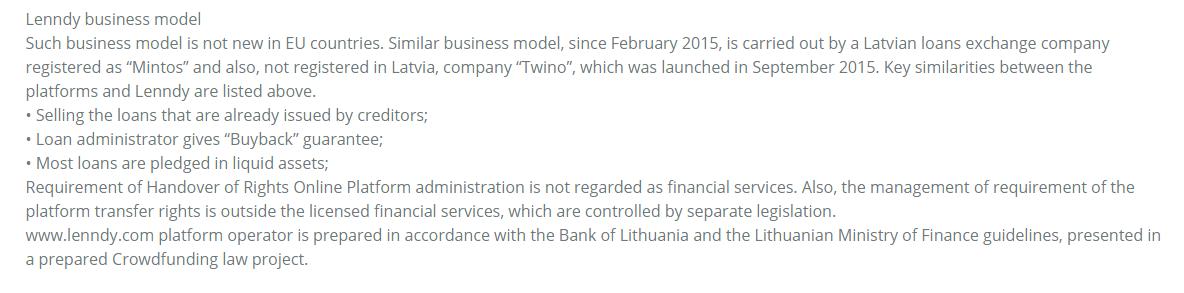 p2p lenndy byznys model