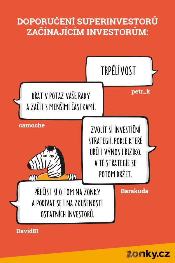 doporučení superinvestorů