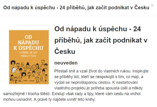 Zonky kniha