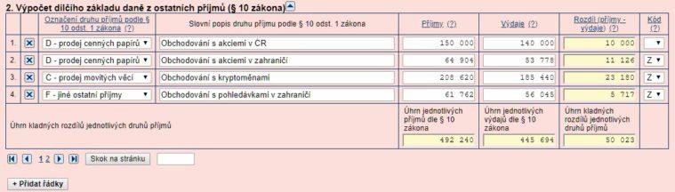 zdanění formulář2