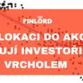 Finlord_ investoři nejvíce věří akciím u vrcholu