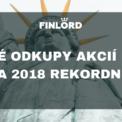 zpětné odkupy akcií Finlord