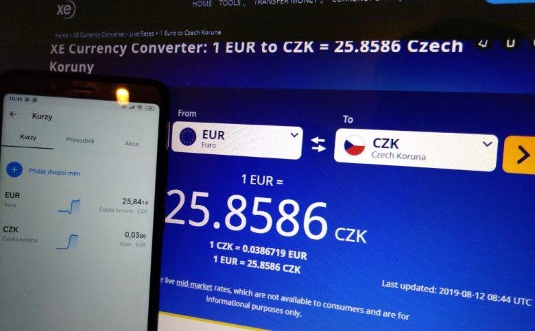 revolut platební karta kurzy