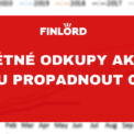Buyback akcií Eva Mahdalová Finlord