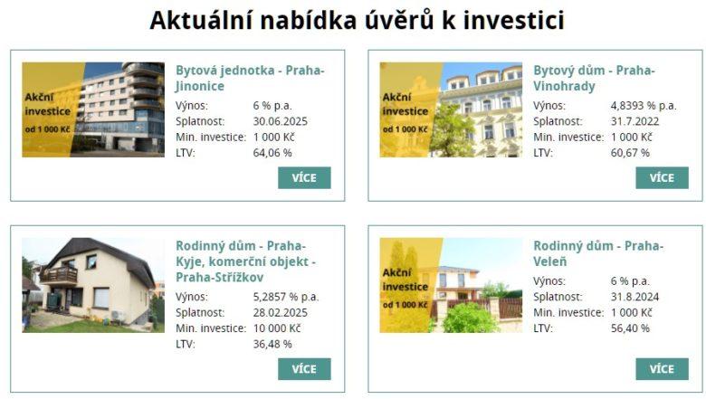 RONDA INVEST nabídka