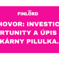 Pilulka.cz investice Eva Mahdalová Finlord