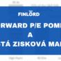 Forward PE poměr a čistá zisková marže Eva Mahdalová Finlord